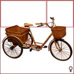 bicicletta-femminile-arancione-da-campagna