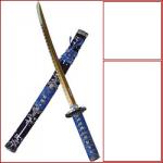 arma-bianca-tagliente-katana-nera-con-tessuto-blu